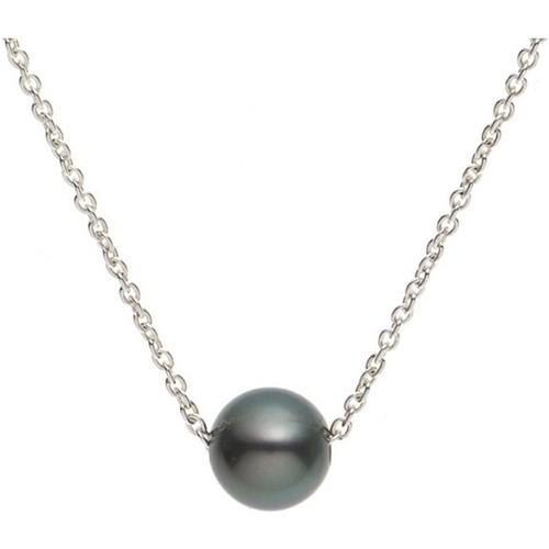 Montres & Bijoux Femme Colliers / Sautoirs Blue Pearls BPS 0241 W Argenté
