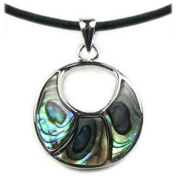 Montres & Bijoux Femme Pendentifs Blue Pearls BPS 0182 Y Vert