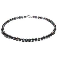 Montres & Bijoux Femme Colliers / Sautoirs Blue Pearls BPS 0244 Y Noir
