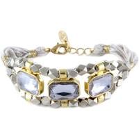 Montres & Bijoux Femme Bracelets Blue Pearls ETK 0154 Gris