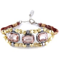 Montres & Bijoux Femme Bracelets Blue Pearls ETK 0152 Rose