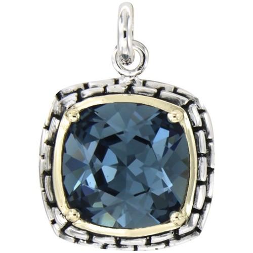 Montres & Bijoux Femme Pendentifs Blue Pearls CRY R2008 S Multicolore