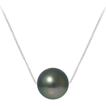 Montres & Bijoux Femme Colliers / Sautoirs Blue Pearls BPS K717 W Argenté