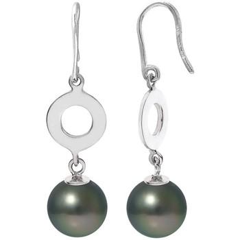 Montres & Bijoux Femme Boucles d'oreilles Blue Pearls BPS K382 W Vert