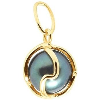 Montres & Bijoux Femme Pendentifs Blue Pearls Pendentif Perle de Tahiti et Or Jaune 750/1000 Doré