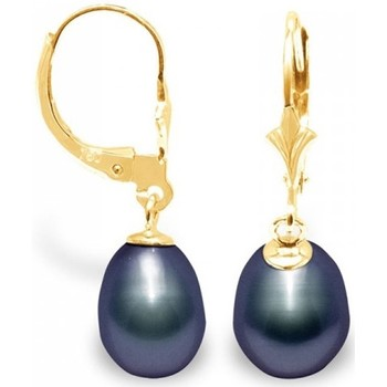 Montres & Bijoux Femme Boucles d'oreilles Blue Pearls BPS K319 W Multicolore