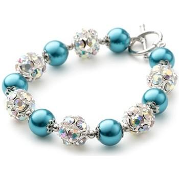 Montres & Bijoux Femme Bracelets Blue Pearls OCP 0103 Multicolore