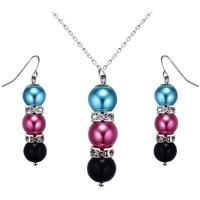 Montres & Bijoux Femme Parures Blue Pearls OCP 0205 Multicolore