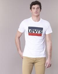 Vêtements Homme T-shirts manches courtes Levi's GRAPHIC SPORTSWEAR LOGO Blanc / Bleu / Rouge