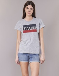 Vêtements Femme T-shirts manches courtes Levi's THE PERFECT TEE Gris