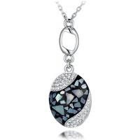 Montres & Bijoux Femme Pendentifs Blue Pearls BPS E201 J Blanc