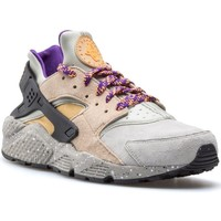 Chaussures Homme Baskets basses Nike Air Huarache Run Prm Gris
