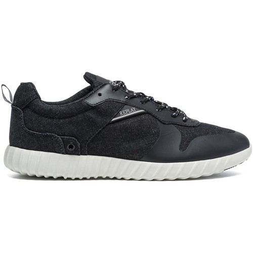 Chaussures Homme Baskets basses Replay Willern Noir