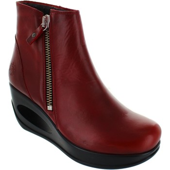 Chaussures Femme Boots Fly London Hulk rouge