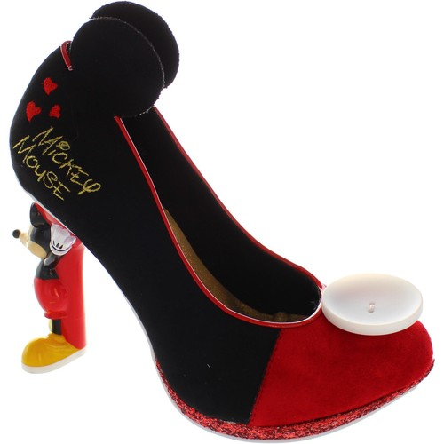 Chaussures Femme Escarpins Irregular Choice Mickey Mouse rouge