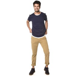 Vêtements Homme T-shirts manches courtes Deeluxe Pull Homme Mohan bleumarine