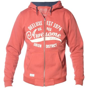 Vêtements Homme Sweats Deeluxe Sweat à capuche zippé Lastone tomate