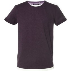 Vêtements Homme T-shirts manches courtes Deeluxe Pull Homme Mohan prune