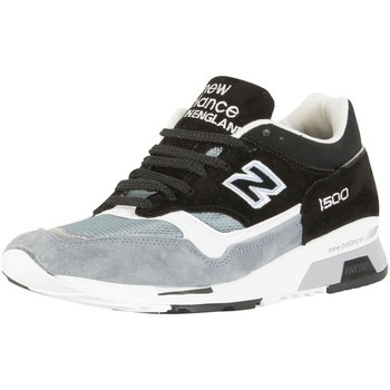 Chaussures Homme Baskets montantes New Balance Homme 1500 formateurs Made In England, Noir noir