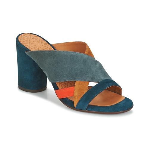 Chie Mihara UNIL Bleu - Livraison Gratuite avec  - Chaussures Mules Femme