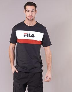 Vêtements Homme T-shirts manches courtes Fila AARON TEE SS Noir