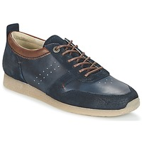 Chaussures Homme Baskets basses Kickers OLYMPEI Marine