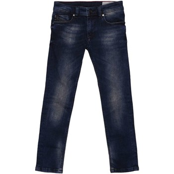 Vêtements Enfant Jeans droit Diesel SLEENKER-J-EL 00J3HN JEANS Enfant DENIM DARK BLUE DENIM DARK BLUE
