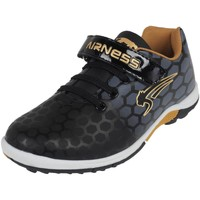 Chaussures Garçon Baskets basses Airness Over turf noir or Noir