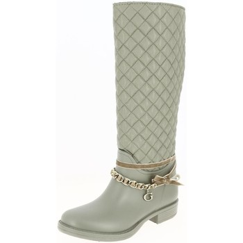Chaussures Femme Bottes ville Guess flral3rub11 beige