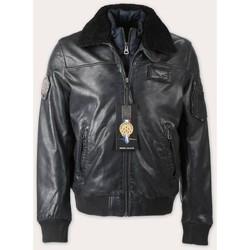 Vêtements Vestes en cuir / synthétiques Redskins Rafal YCON Noir Noir