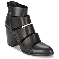 Chaussures Femme Bottines Strategia AVEZZANO Noir