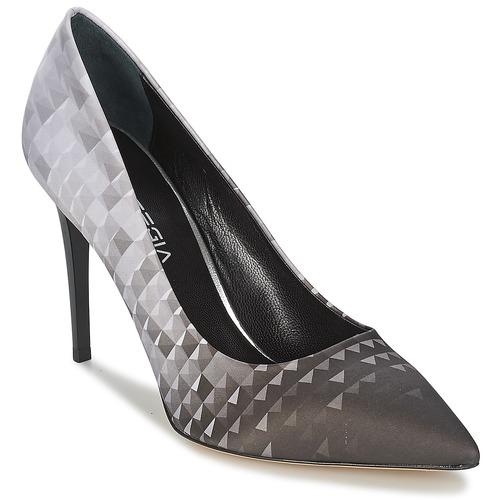 Femme Chaussures NoirGris Escarpins Strategia Balsorano srdChQxt