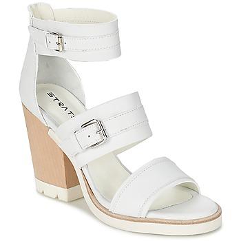 Chaussures Femme Sandales et Nu-pieds Strategia BARREA Blanc