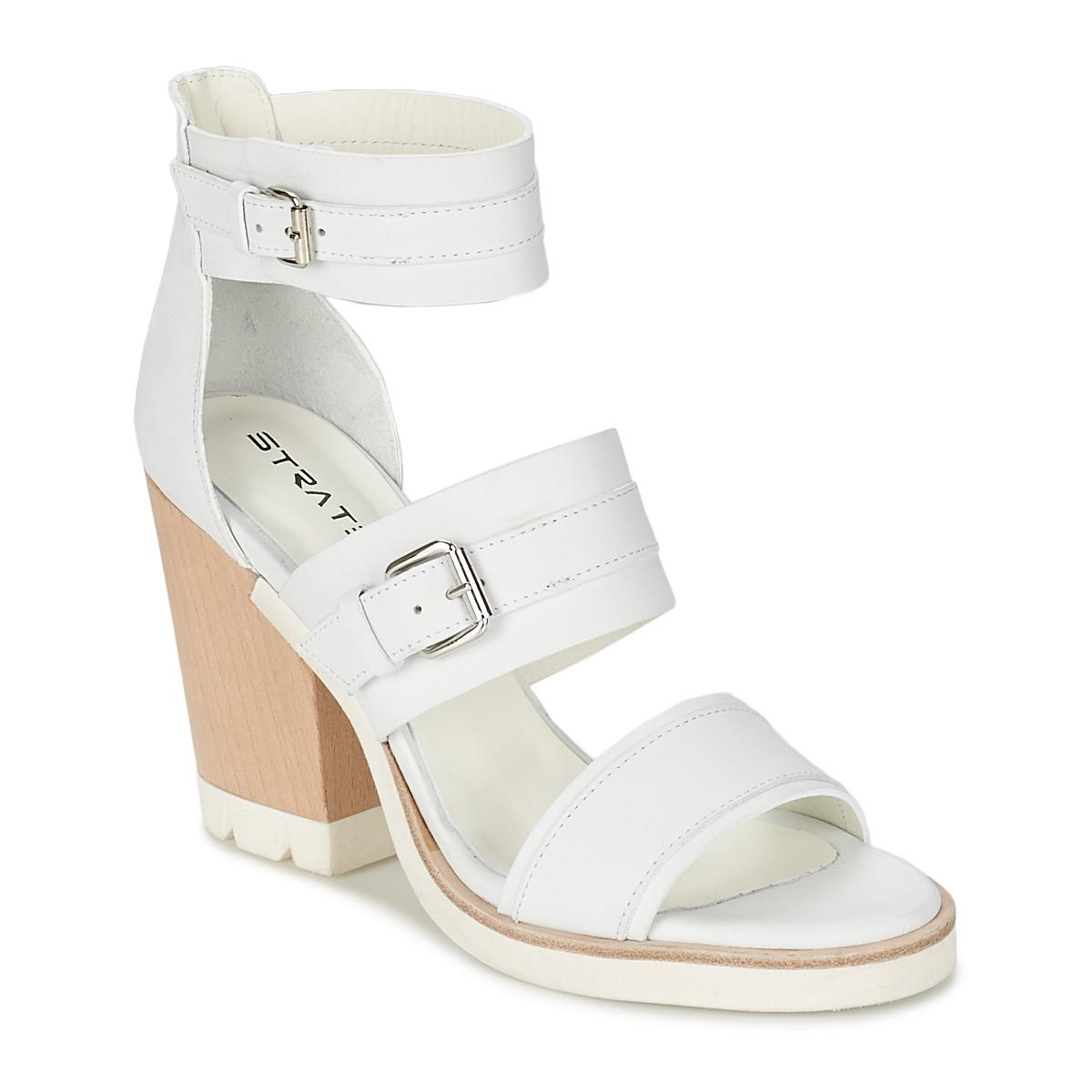 Sandale Strategia BARREA Blanc