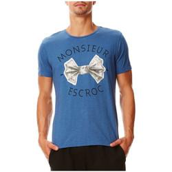 Vêtements Homme T-shirts manches courtes Kaporal T-Shirt  David Northsea Bleu Bleu
