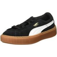 Chaussures Fille Baskets basses Puma 364701 noir