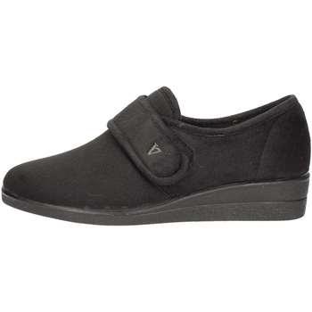 Chaussures Femme Mocassins Valleverde 23205 Pantoufle Femme Noir Noir
