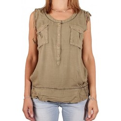 Vêtements Femme Tops / Blouses Kaporal TUNIQUE  KAISE Light Kaki (sp)