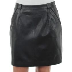 Vêtements Femme Jupes Oakwood Jupe  Annie en cuir ref_cco35660-noir noir