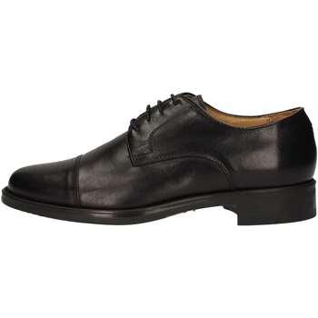 Chaussures Homme Derbies Hudson 909 Lace up shoes Homme Noir Noir
