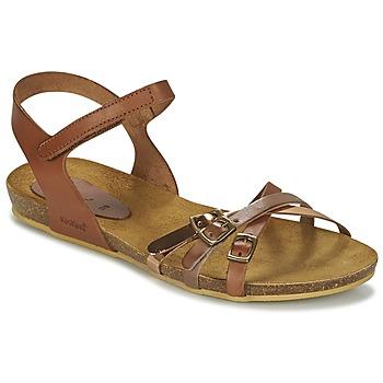 Chaussures Fille Sandales et Nu-pieds Kickers BONAVISTA Camel