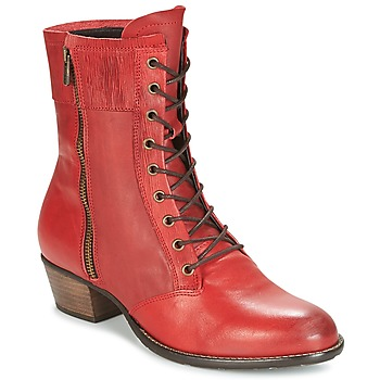 Chaussures Femme Bottines Dkode RONNIE Rouge