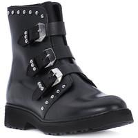 Chaussures Fille Bottines Cult ROSE BLACK Nero