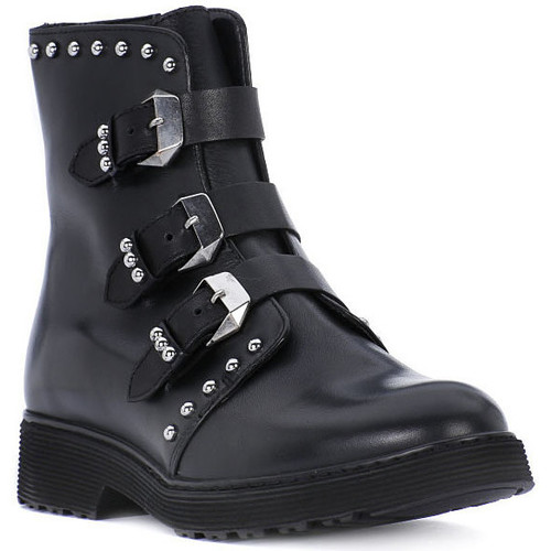 Chaussures Fille Bottes Cult ROSE BLACK Nero