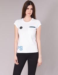 Vêtements Femme T-shirts manches courtes Philipp Plein Sport SITTIN OVER HERE Blanc