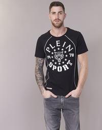 Vêtements Homme T-shirts manches courtes Philipp Plein Sport LIONEL Noir / Blanc