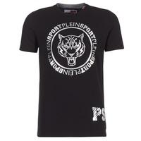 Vêtements Homme T-shirts manches courtes Philipp Plein Sport IVAN Noir / Argenté