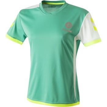 Vêtements Femme T-shirts manches courtes Hummel Maillot Femme  Trophy vert/blanc