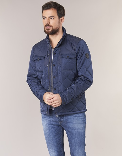 Vêtements Homme Blousons Teddy Smith BOLVO Marine