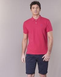 Vêtements Homme Polos manches courtes Gant CONTRAST COLLAR PIQUE RUGGER Rose